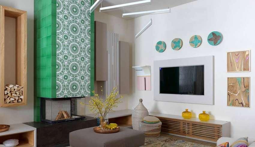 دکوراسیون رنگارنگ در محیط منزل