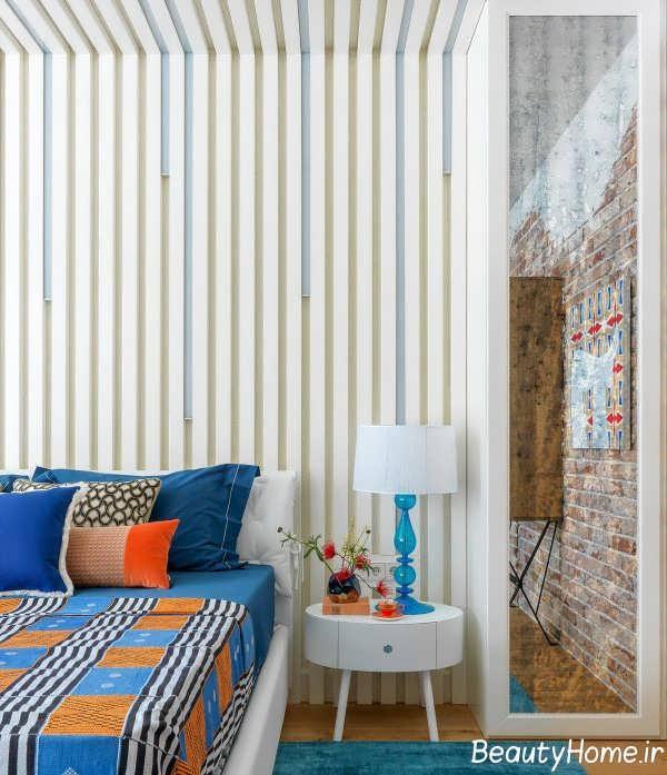 طراحی اتاق خواب با تم ترکیبی