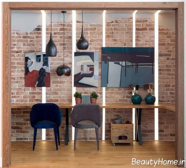 دکوراسیون زیبای اتاق پذیرایی