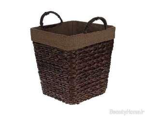 مدل سطل آشغال قهوه ای