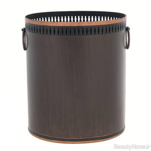سطل قهوه ای زباله