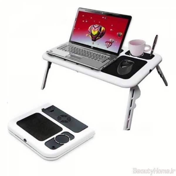 مدل میز ساده برای لپ تاپ