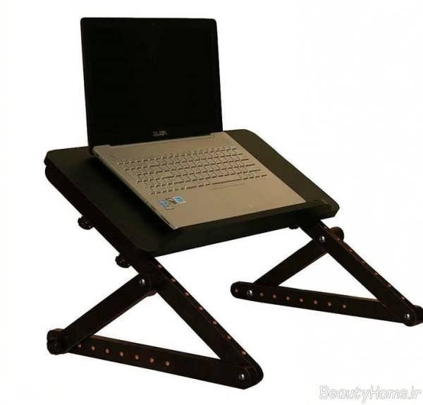 میز لپ تاپ پایه دار