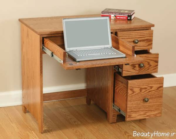 مدل میز چوبی مخصوص لپ تاپ