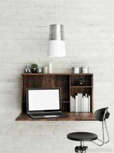 مدل میز دیواری برای لپ تاپ