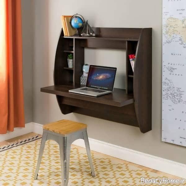 مدل میز دیواری کامپیوتر