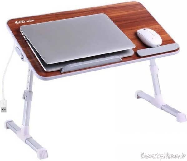 مدل میز ساده و شیک مخصوص لپ تاپ
