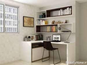 مدل میز سفید و کاربردی لپ تاپ