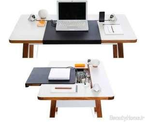 مدل میز سفید لپ تاپ