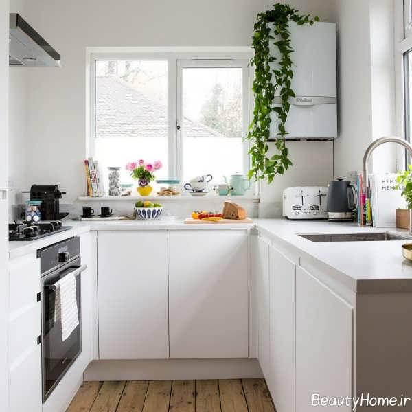 دکوراسیون داخلی آشپزخانه شیک و زیبا