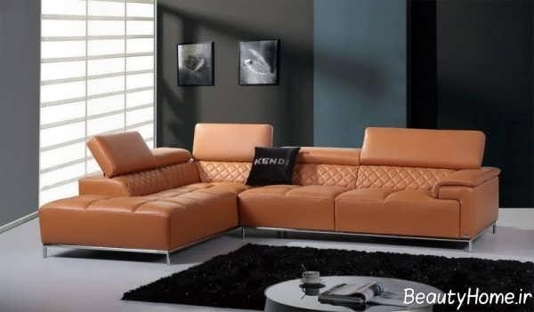 مدل مبل نارنجی