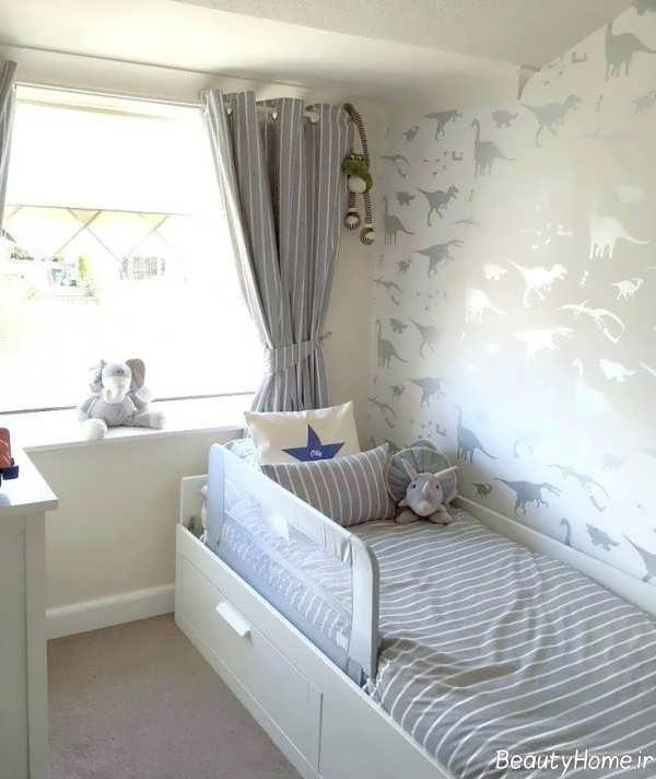 کاغذ دیواری برای اتاق خواب کودک