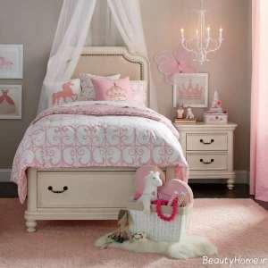طراحی داخلی اتاق دخترانه