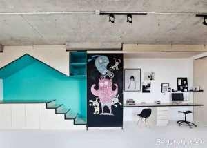 دیزاین داخلی آتلیه