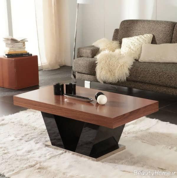 مدل میز ساده عسلی
