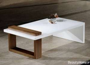 مدل میز سفید عسلی