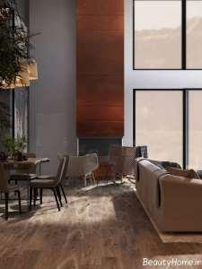 طراحی لاکچری اتاق پذیرایی