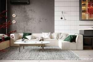 اتاق نشیمن با طراحی زیبا