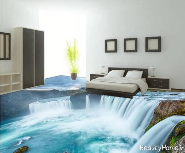 مدل سرامیک سه بعدی برای اتاق خواب
