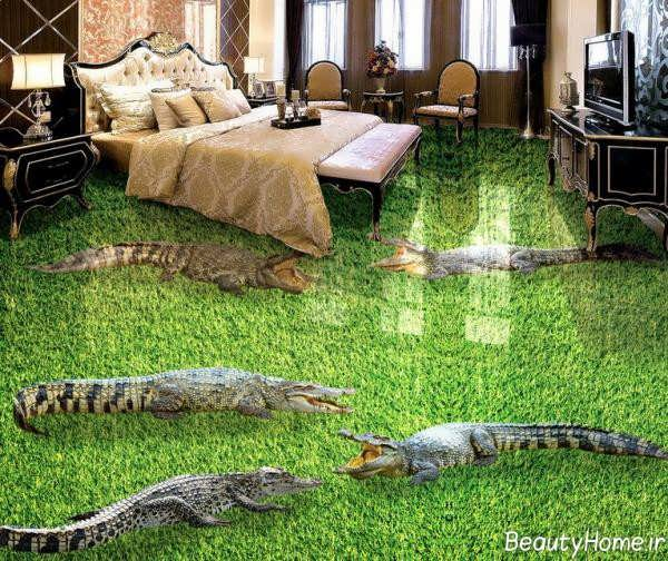 مدل سرامیک زیبا و شیک مخصوص اتاق خواب