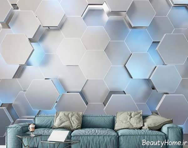 مدل کاغذ دیواری زیبا و جذاب