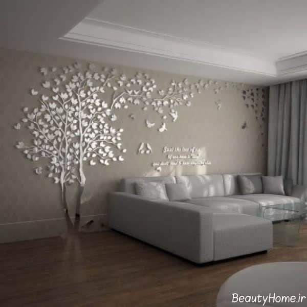 مدل کاغذ دیواری زیبا و طرح دار