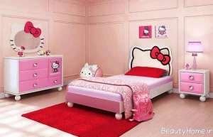 طراحی داخلی زیبا و شیک اتاق کودک