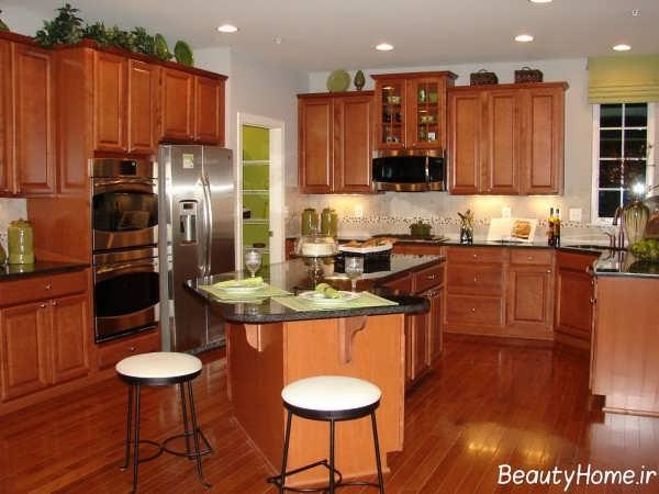 مدل کابینت کلاسیک آشپزخانه