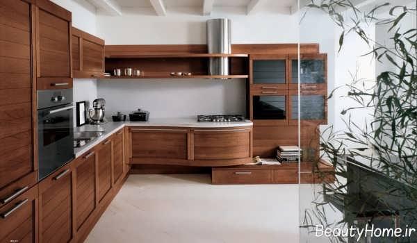 کابینت زیبا و جدید آشپزخانه