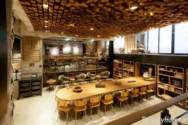 طراحی داخلی مغازه کافی شاپ