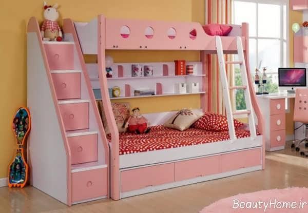 تخت خواب زیبا و فانتزی