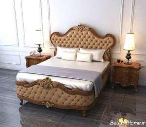 تخت خواب کلاسیک و شیک