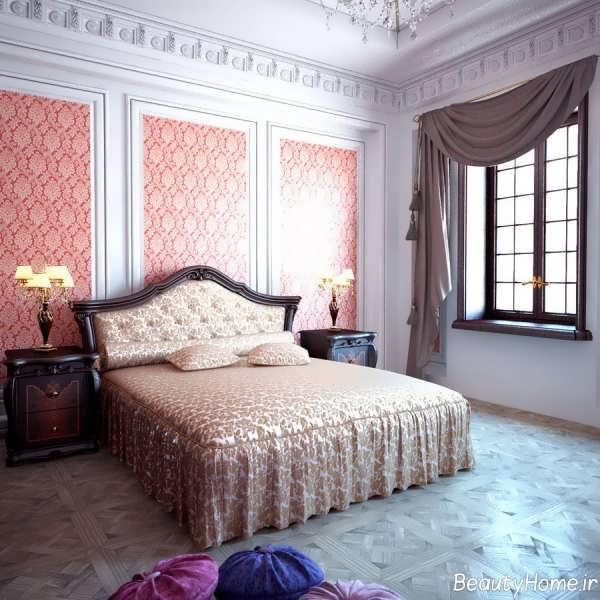 تخت خواب کلاسیک دو نفره