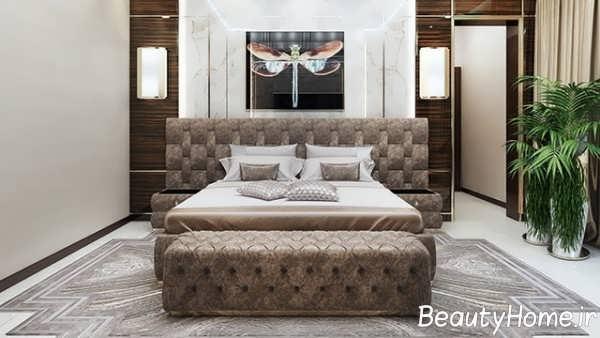 تخت خواب زیبا و شیک