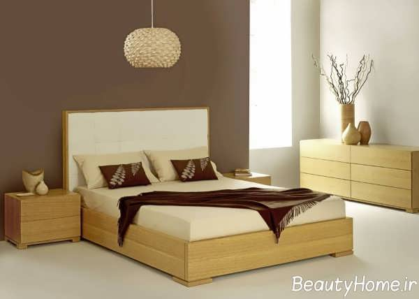مدل تخت خواب شیک و ام دی اف