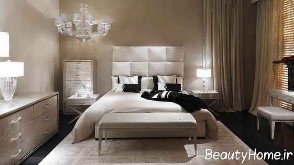 تخت خواب زیبا و جدید دو نفره