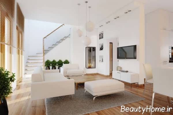 دکوراسیون سفید منزل