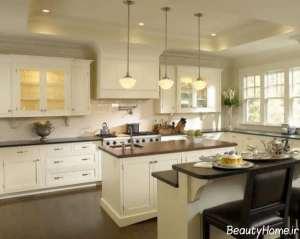 دکوراسیون زیبا و کلاسیک آشپزخانه