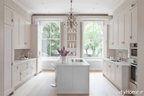 دکوراسیون کلاسیک و شیک آشپزخانه