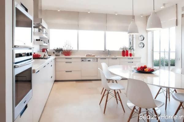 دکوراسیون مدرن و جذاب آشپزخانه