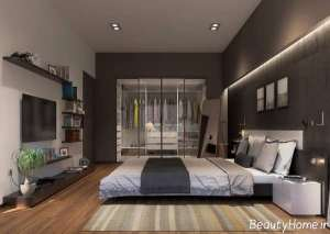 دکوراسیون زیبا و مدرن اتاق خواب مستر