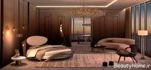 طراحی نورپردازی خواب مستر