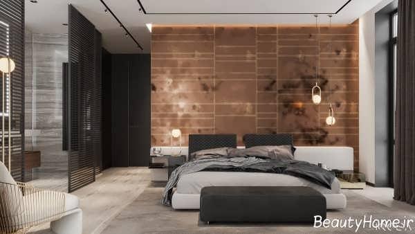 طراحی زیبا و شیک خواب مستر