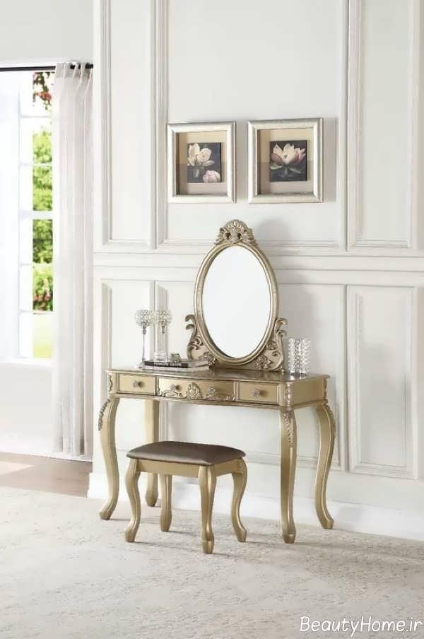 طرح سلطنتی میز آرایش