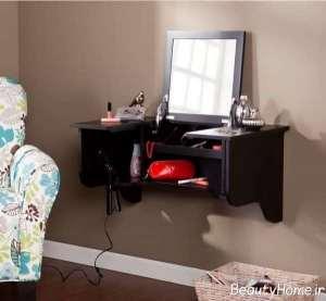 دکوراسیون میز آرایش دیواری