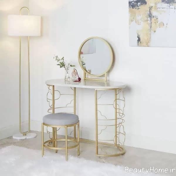 میز آرایش فلزی