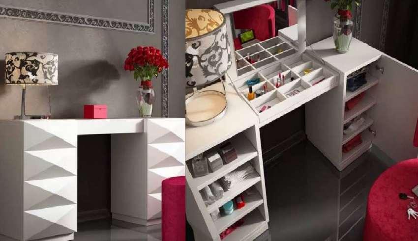 طراحی زیبای میز آرایش