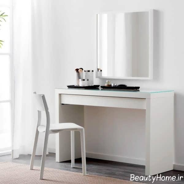 میز ساده و جذاب آرایش