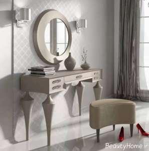 طرح جذاب و لاکچری میز آرایش