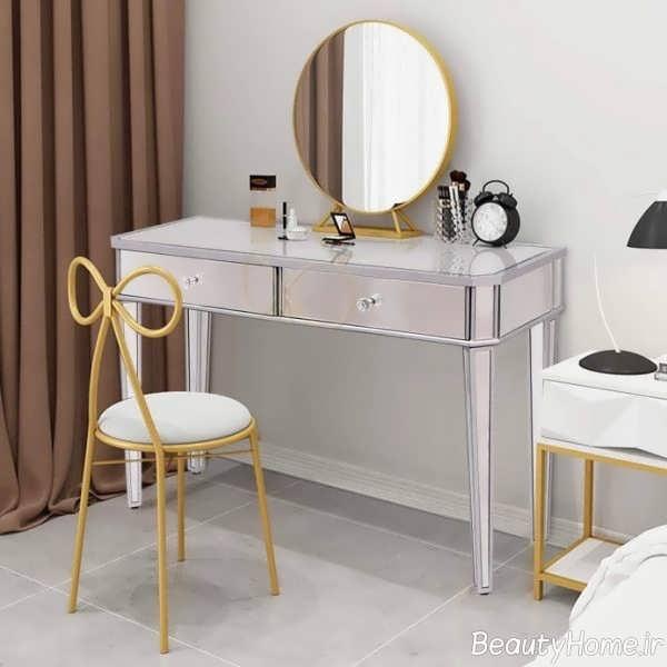 میز آرایش کوچک و زیبا